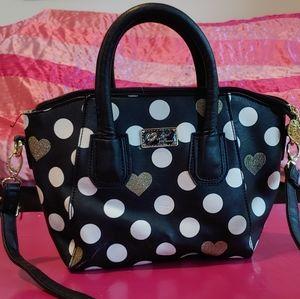 Betsey Johnson Polka Dot Bag New!